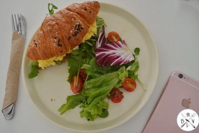 Croissant Sandwich Rm16